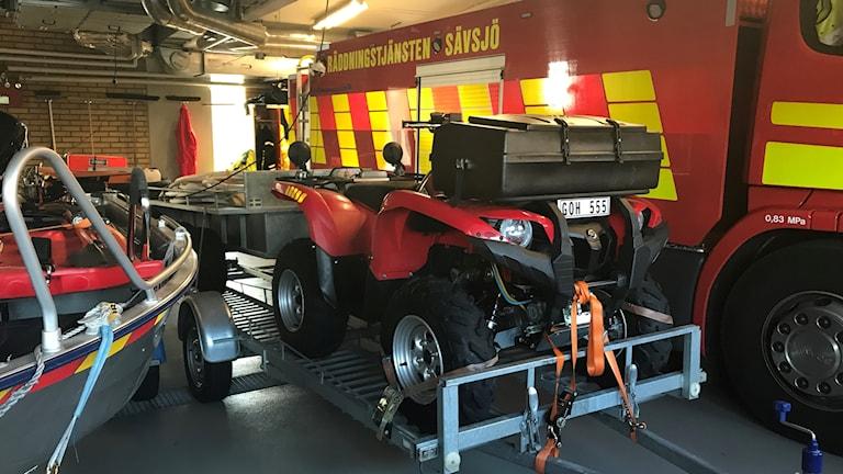 Brandbil från Sävsjö