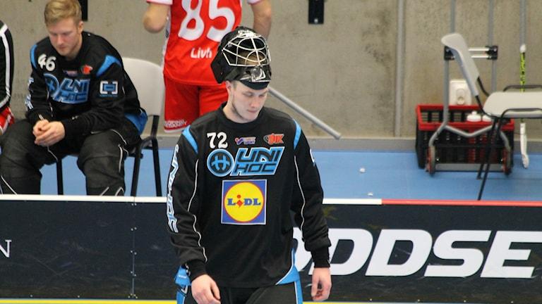 Gustav Jansson målvakt i JIK.