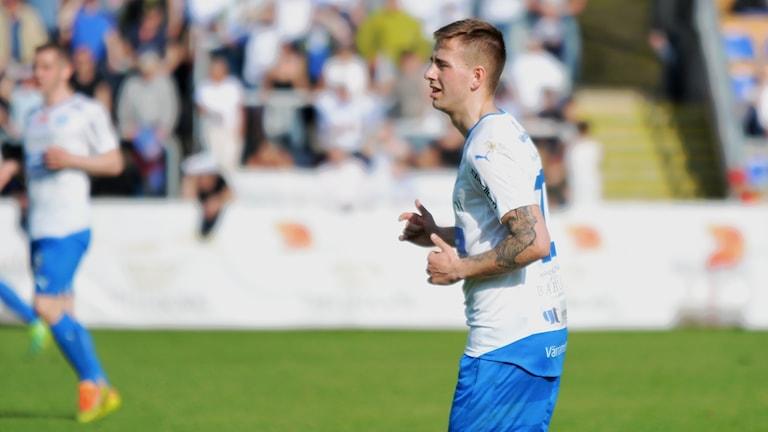 IFK Värnamo och Petar Petrovic.
