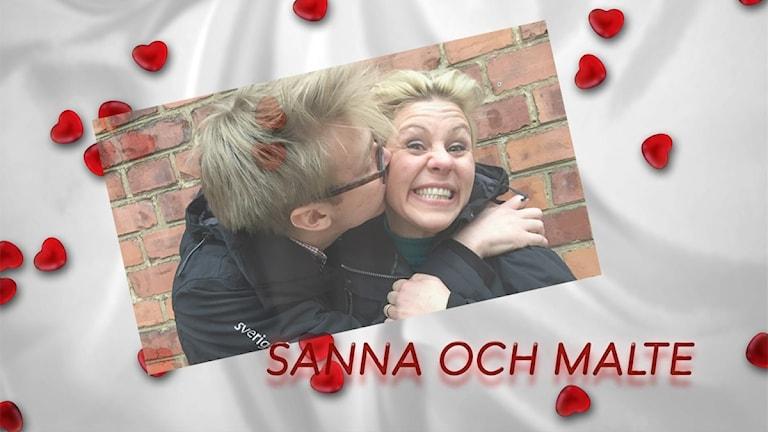 Dejta med Sanna och Malte