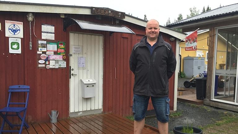 Rob Lenting, ägare av Habo camping.
