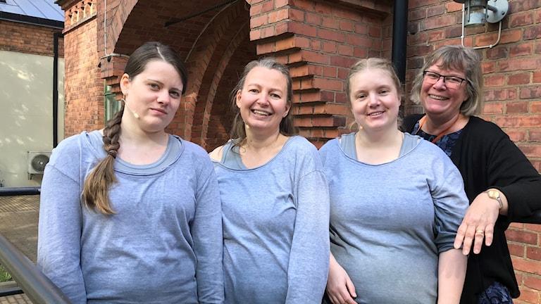 Pauline Wågström, Klara Tovhult, Anna Lilja, Eva Edevik.