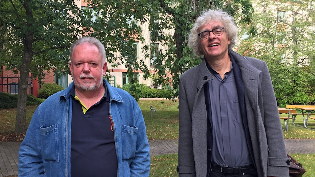 Torbjörn Åhgren och Torgny Wirén.