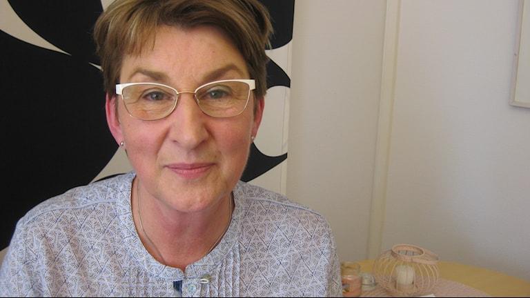 Annika Ebefors, som är chef över förskolorna i Jönköpings kommun.