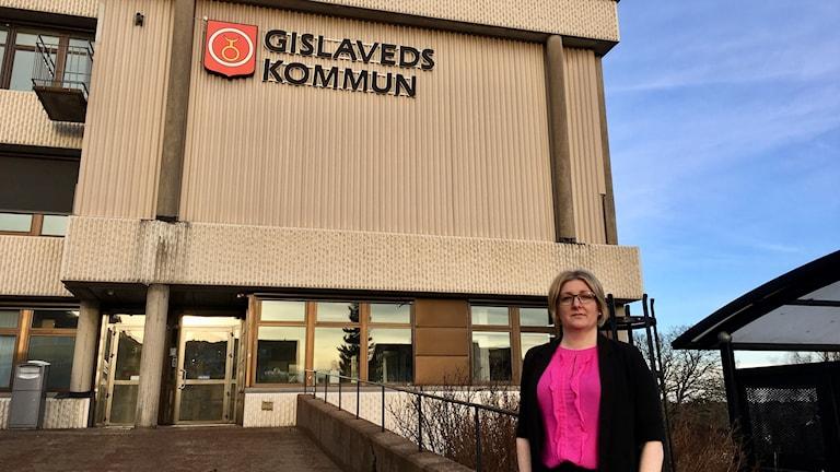 Suzi Pergel, HR-chef på Gislaveds kommun.