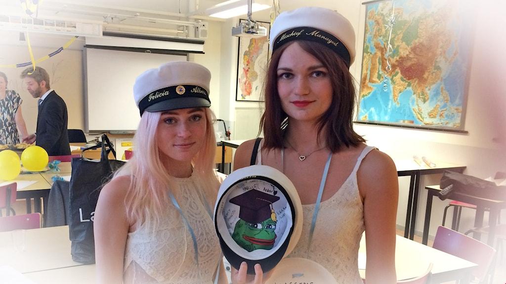 Felicia Albers och Emmelie Stenström