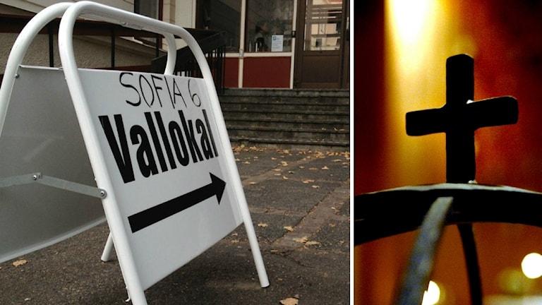 Idag kan man börja förtidsrösta i kyrkovalet.