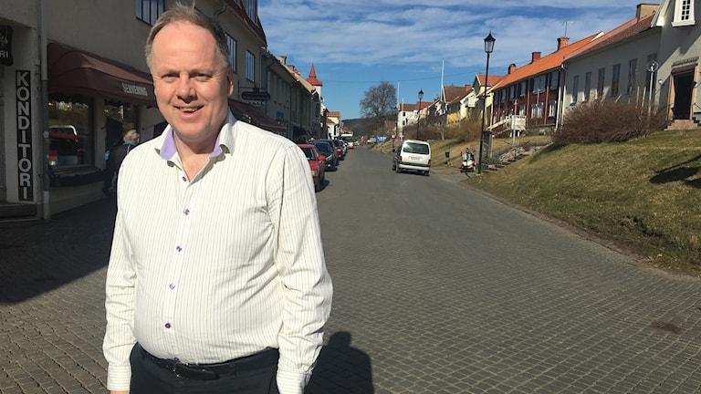 Anders Samuelsson (C), ordförande för stadsbyggnadsnämnden.