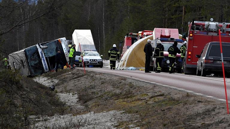 bussolyckan Sveg