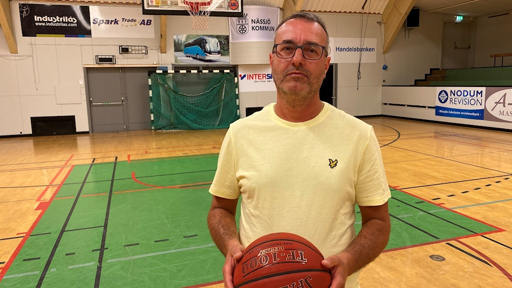 Rade Mladenovic, ordförande i Nässjö basket.