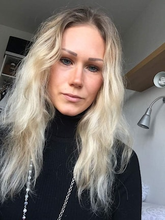 Amanda Nemeth, som var tvungen att köpa en lägenhet för att kunna studera i Jönköping.