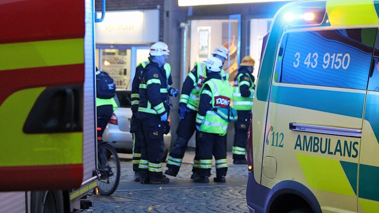 Ambulanspersonal.