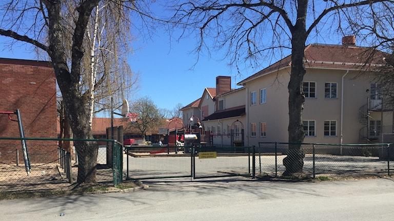 Tenhultsskolan. Foto: Tommy Alexandersson/Sveriges Radio.