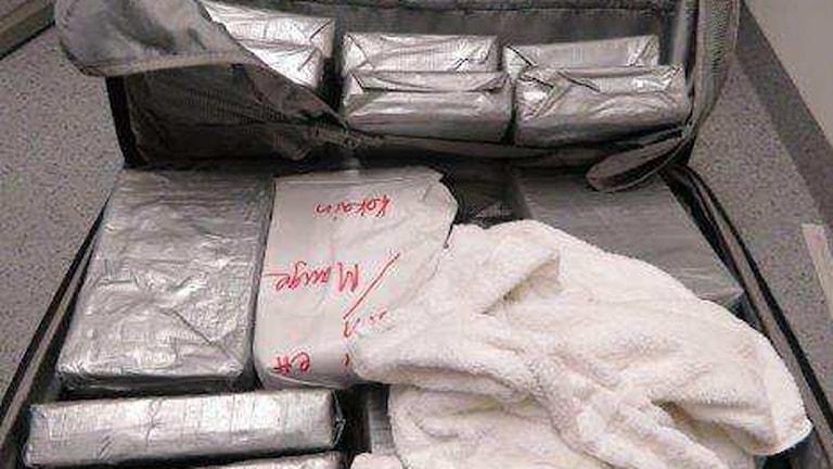 kokain smuggling knark