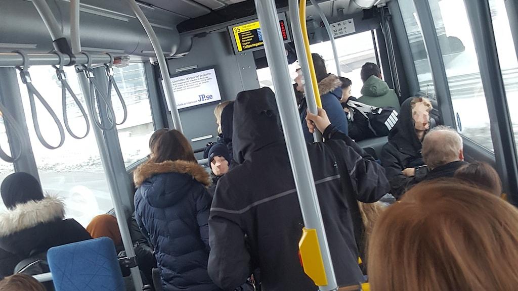 Busslinje 35 trafikfara