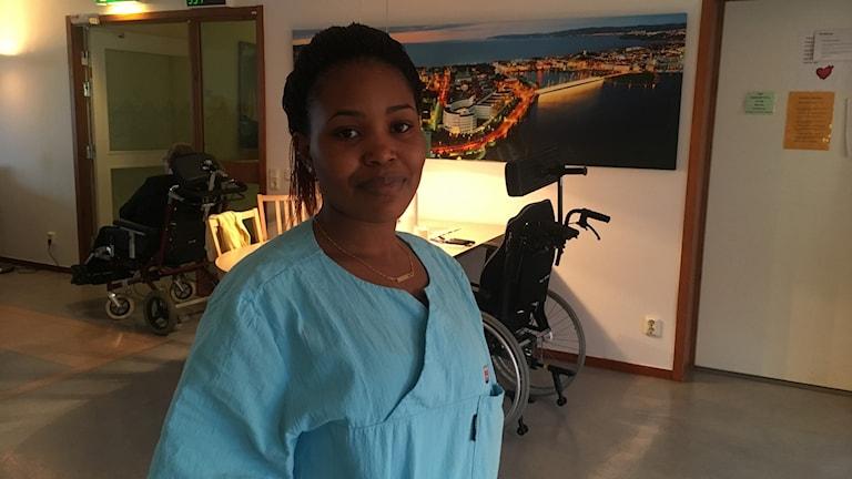 Angelique Sibomana.