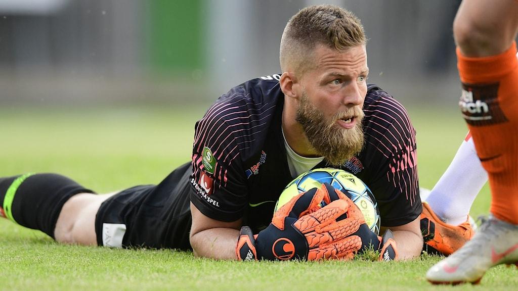 Jönköpings Södras målvakt Frank Pettersson.