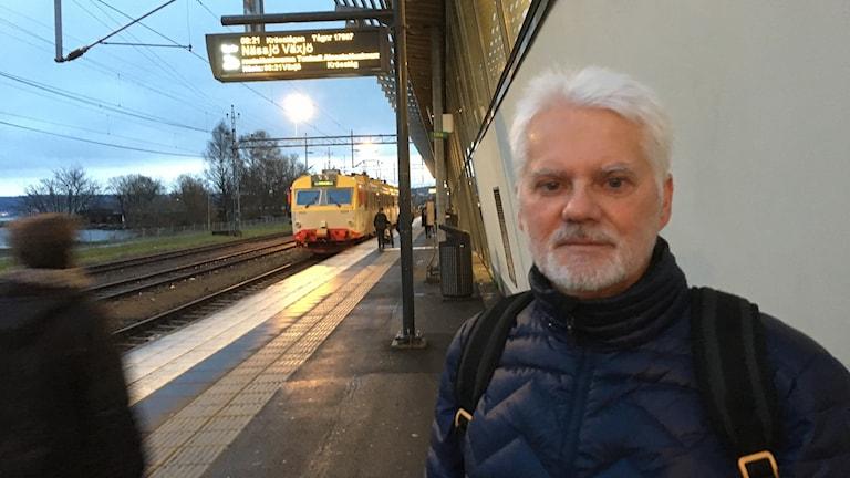 Thomas Adelöf, trafikplanerare Länstrafiken