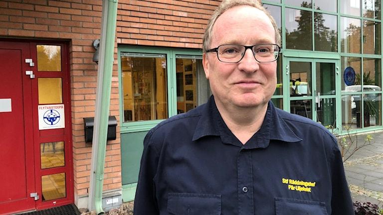 Ställföreträdande räddningschef Pär Liljeqvist