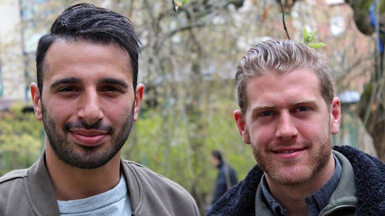 André Calisir och Stefan Karlsson