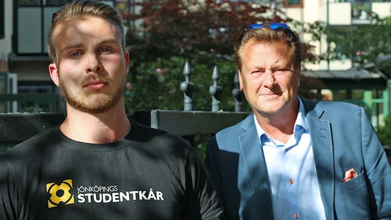 Jacob Wassén och Peter Jutterström.