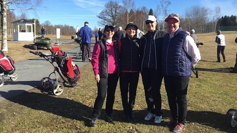 Golf A6 Monica, Ann, Lena, Eva