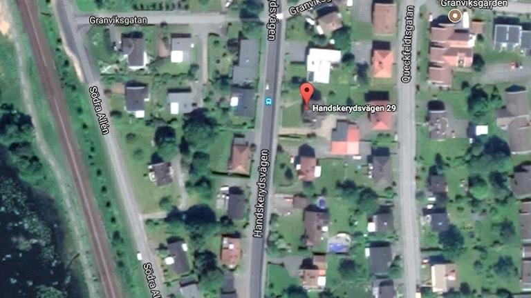 Satellitbild.