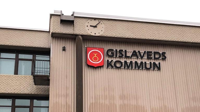 Bild på Gislaveds kommunhus.