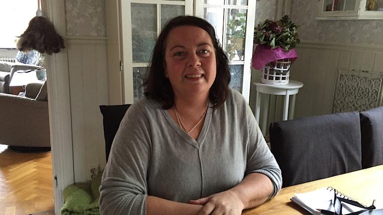 Susanne Nilsson som är cancersjuk och väntar på donation, en ny frisk benmärg.