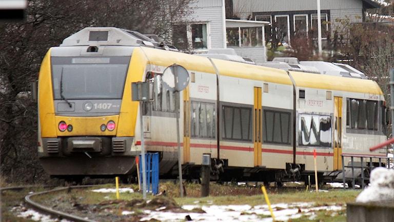 Krösatåg Itinotåg Y31 Jönköpings länstrafik Vaggerydsbanan
