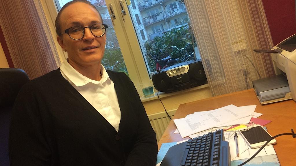Frida Boklund är regionchef på intresseorganisationen Företagarna.