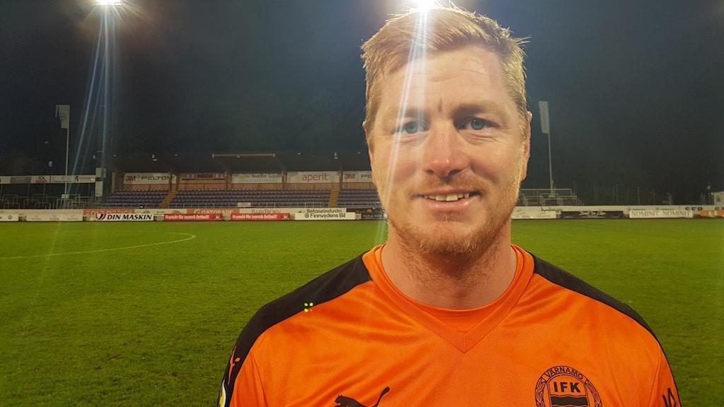 Joakim Wulff målvakt i IFK Värnamo