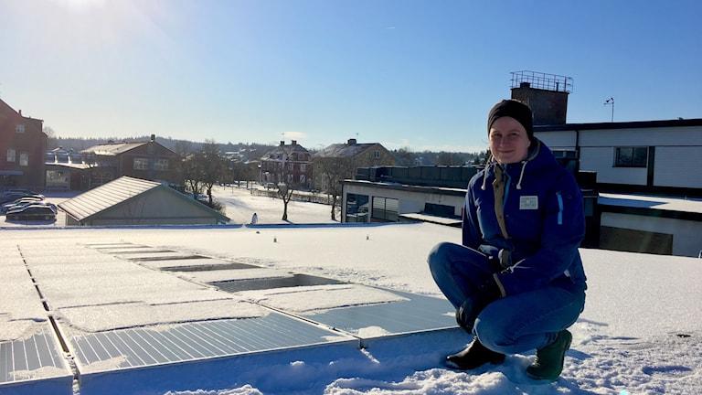 Lina Larsson, miljöstrateg på Vaggeryds kommun.