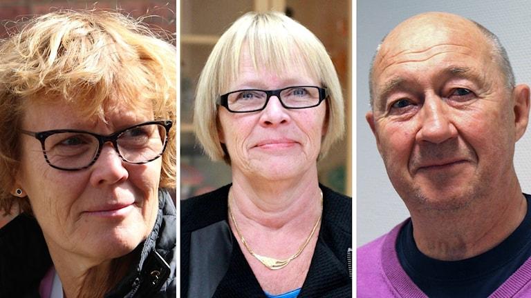 Carin Berggren, AnnMarie Grennhag och Anders Jörgensson är tre av de avhoppande politikerna. De två övriga är Bo Grennhag och Ola Helt.