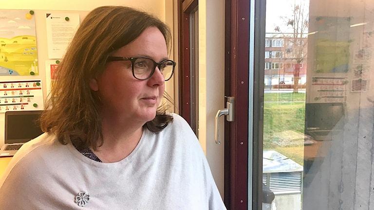 Carina Johansson, centerpartistisk kommunstyrelseordförande i Gislaved. November 2019.