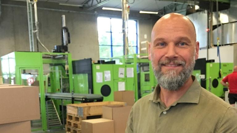 Jimmy Ågren är VD och äger tillsammans med sin fru företaget Werinova i Mullsjö.