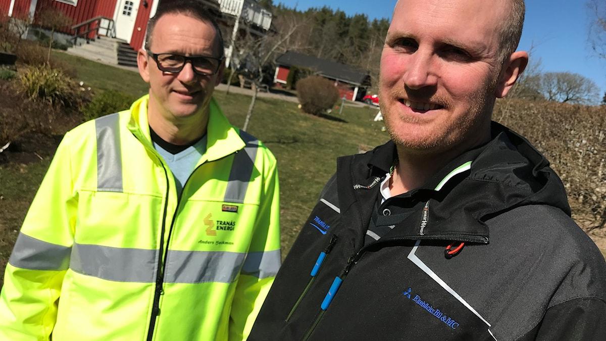 Anders Beckman, Tranås Energi AB. Jonas Beurling Hårkrankeryd, Tranås