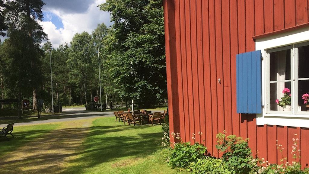 Byarums hembygdsgård.