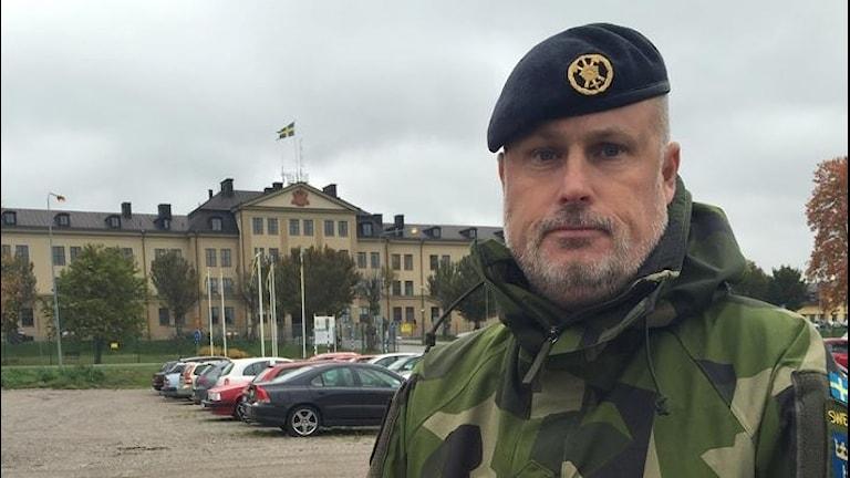 Överste Jonas Larsson
