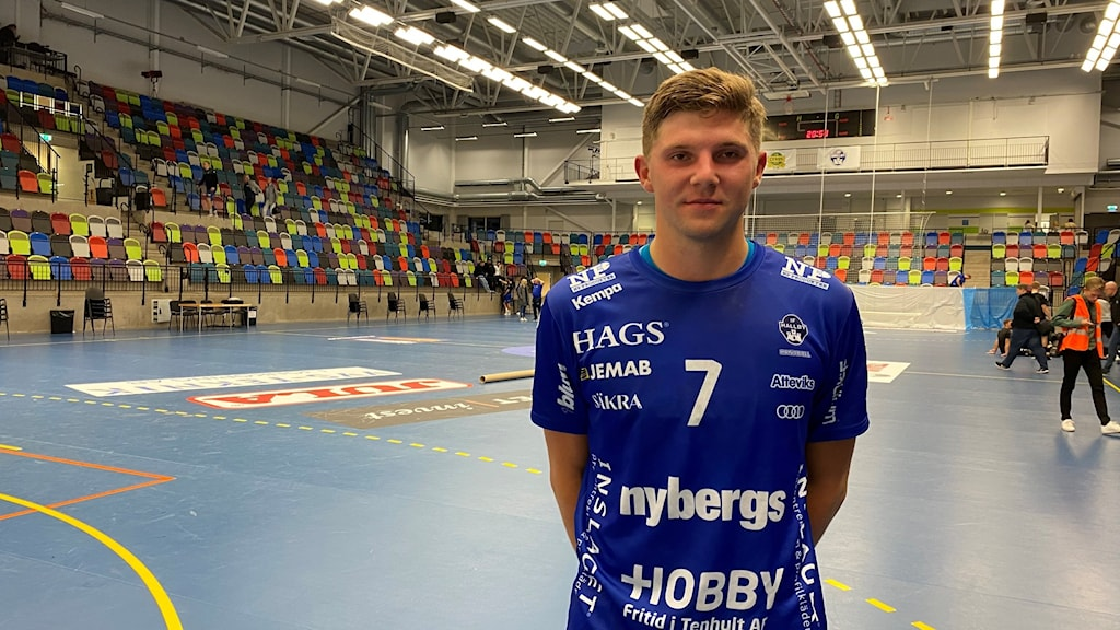 Hallbys Hampus Söderman.