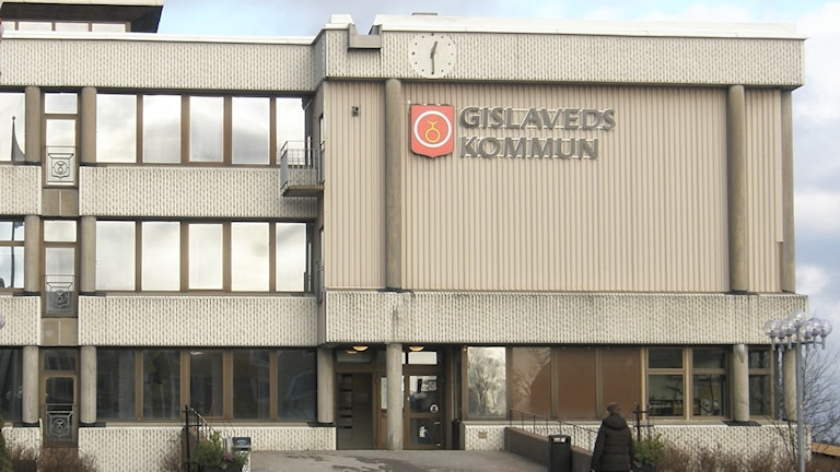 Gislaveds kommunhus. Foto: Karin Malmsten/Sveriges Radio.