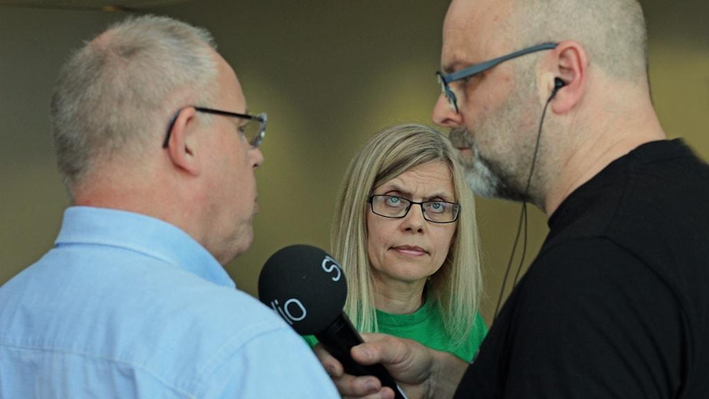 Rune Backlund och Sibylla Jämting.