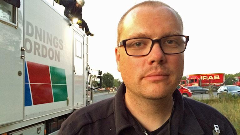 David Högberg, räddningstjänsten
