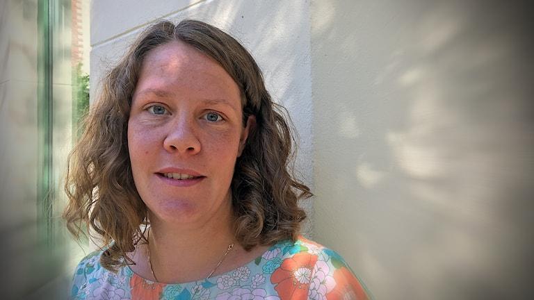 Elise Björn, folkhälsoplanerare i Habo.