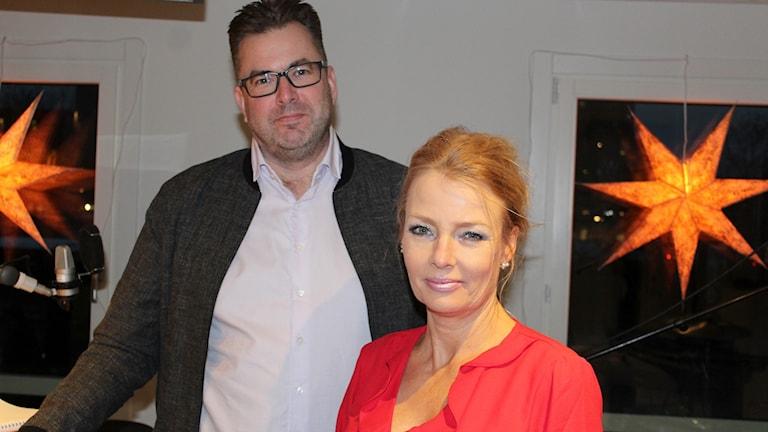 Jonas Magnusson och Malin Olsson.