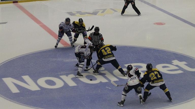 HV71 mot Linköping i SDHL