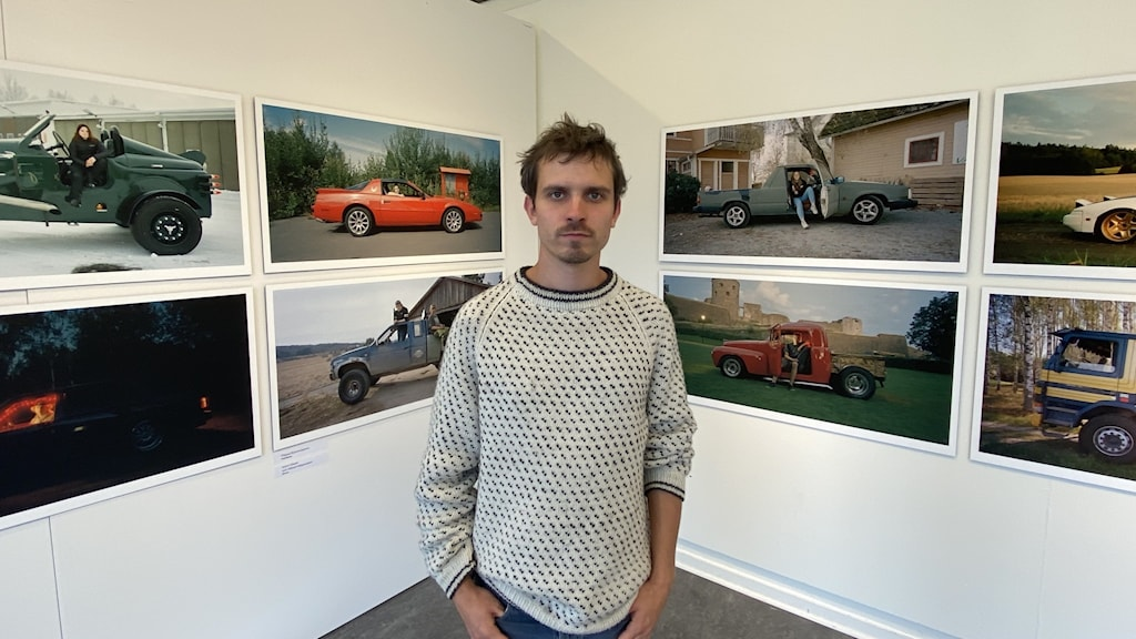 Benjamin Nørskov gör utställning om livet med EPA-traktorer.
