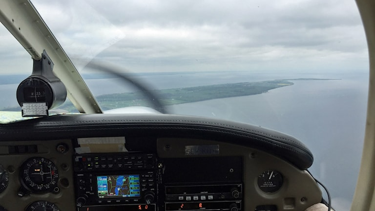 flygfoto Visingsö
