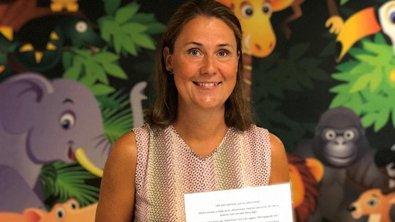 Sara Duveskog barnsjuksköterska