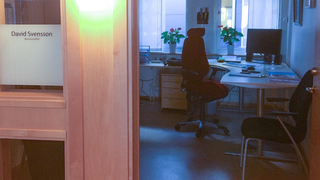 David Svenssons kontor.